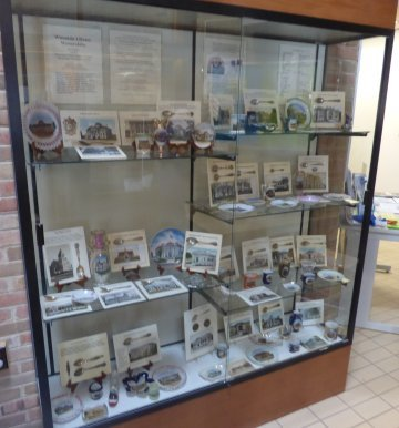Library Memorabilia Exhibit at Brown Deer Public Library