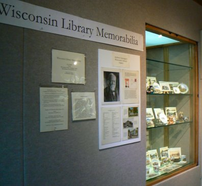 Library Memorabilia Exhibit