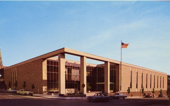 Madison Central Library 1965