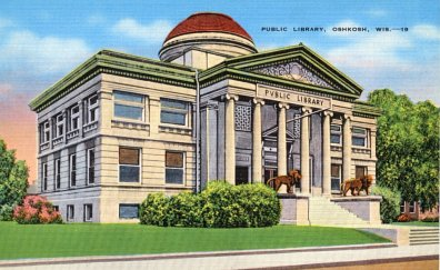 Oshkosh postcard